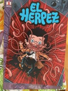 El Herpez 2 Cover Michael Hacker